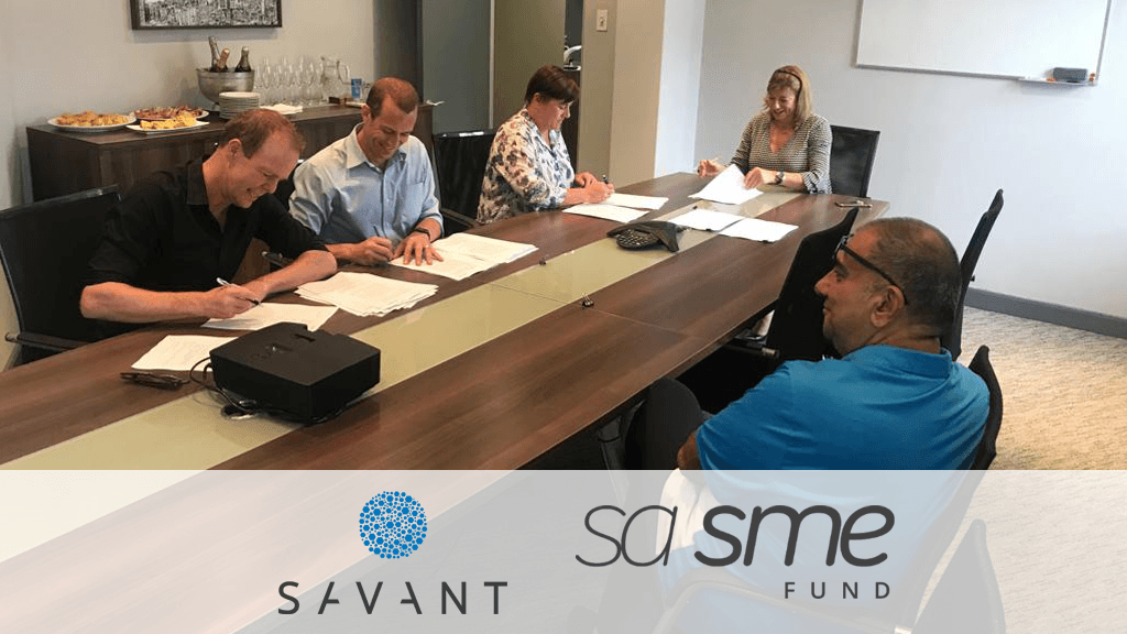 Savant Venture Fund Nick Allen Francois Malan Kate Turner-Smith Ketso Gordhan SA SME Fund