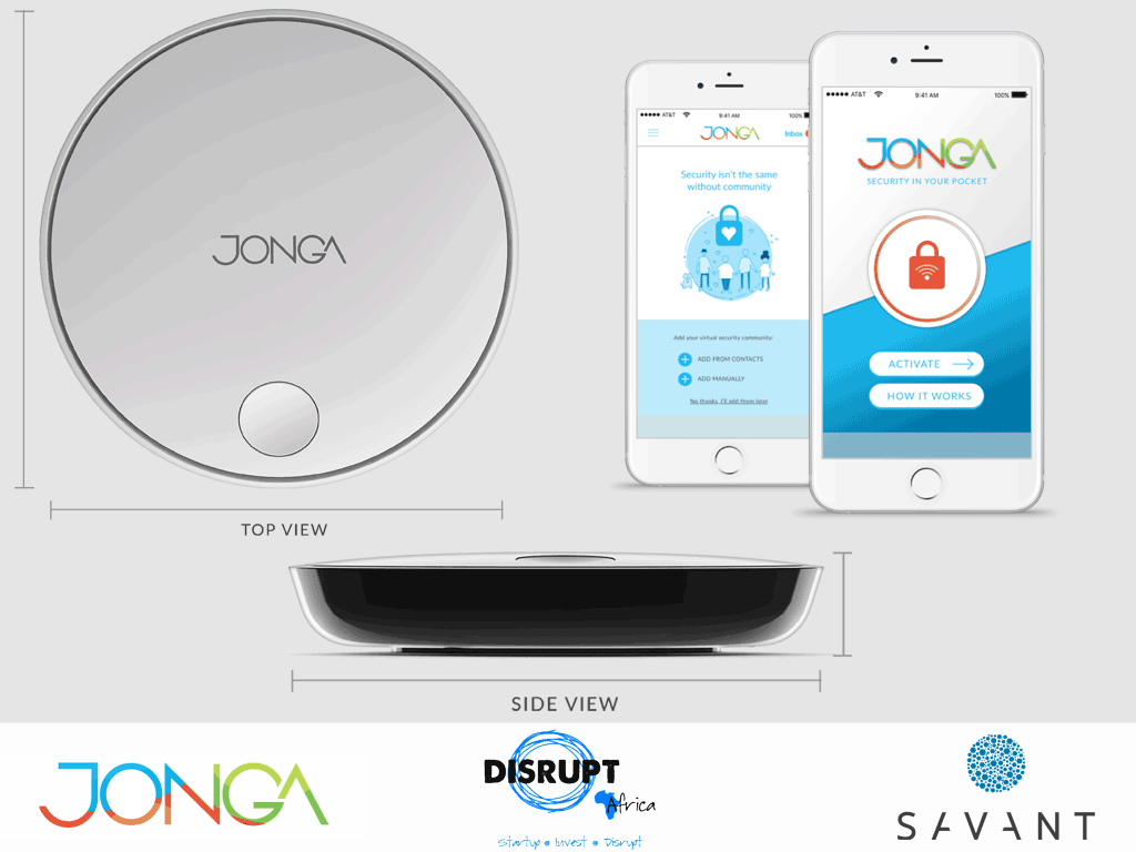 Savant Jonga Systems Disrupt Africa device profiles and app
